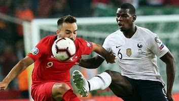 Turki vs Prancis 2-0 Highlights