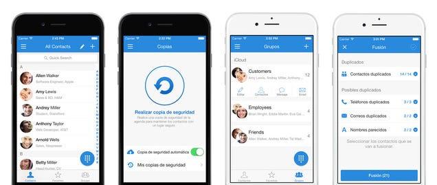 La mejor aplicación para gestionar contactos en el iPhone