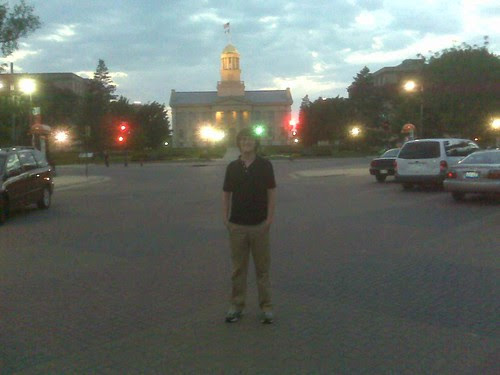 TigerHawk Teenager and the Old Capitol