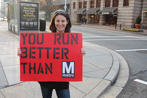 you run better than metro sign