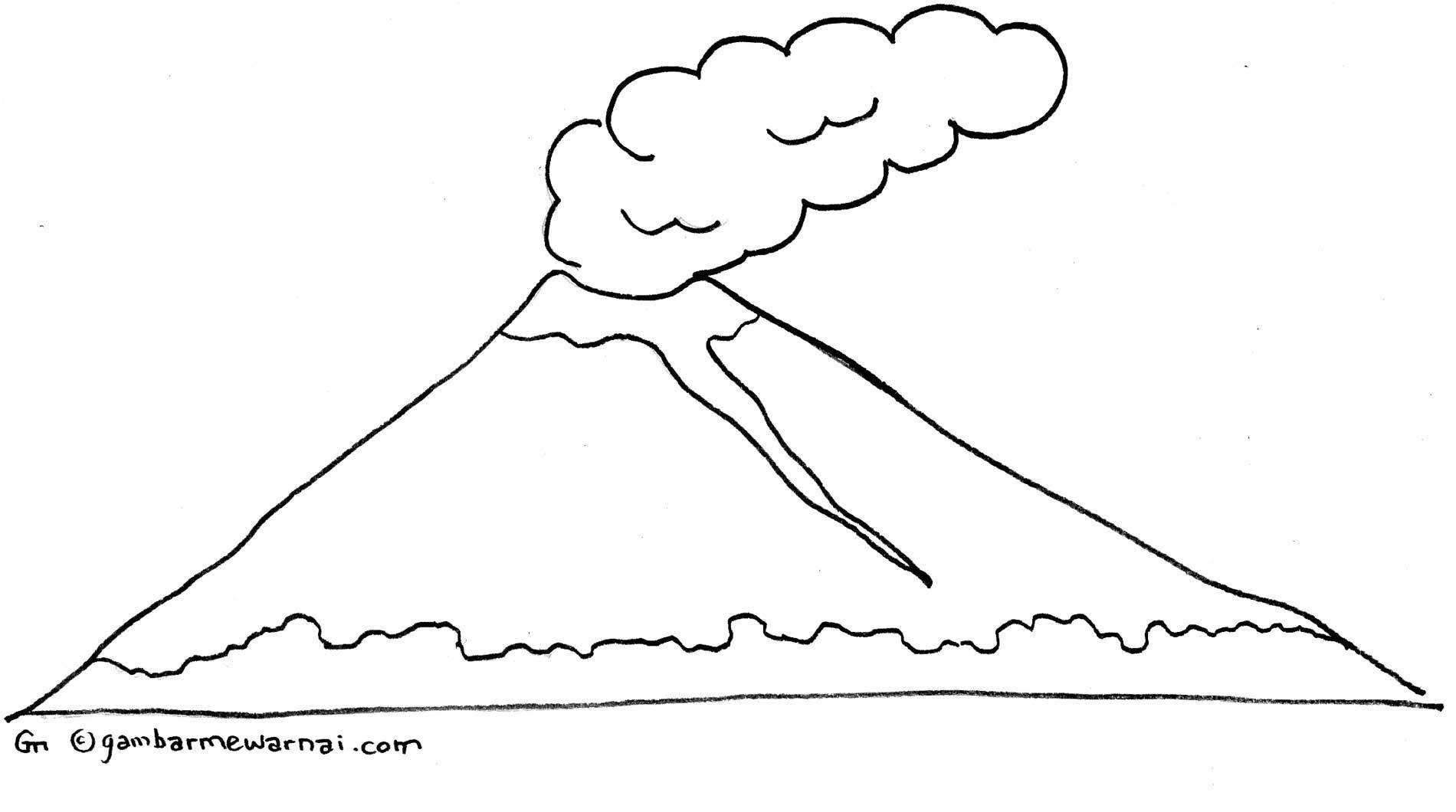 Gambar Gambar Rumah Adat Mewarnai Mainan Anak Lovers Gunung