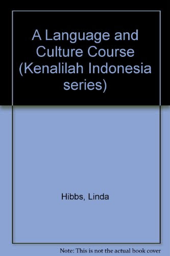 A Language and Culture Course Kenalilah Indonesia series  9781420212358  SlugBooks