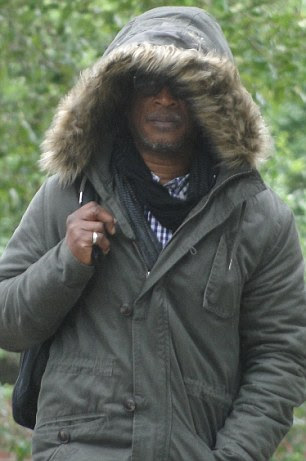 Convicted: Brinsley Forde, 61, pictured outside Croydon Magistrates' Court yesterday