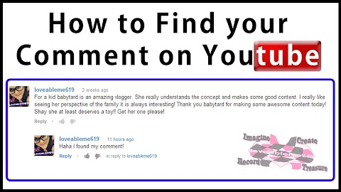 How To Find Your Youtube Comments