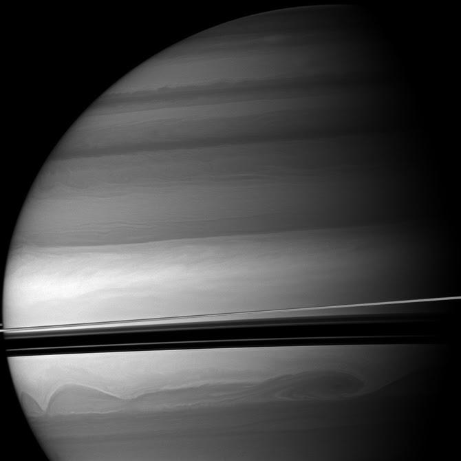 Cassini Saturn Photography