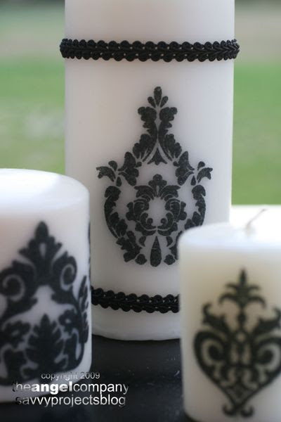 Candi's Candles Close Up