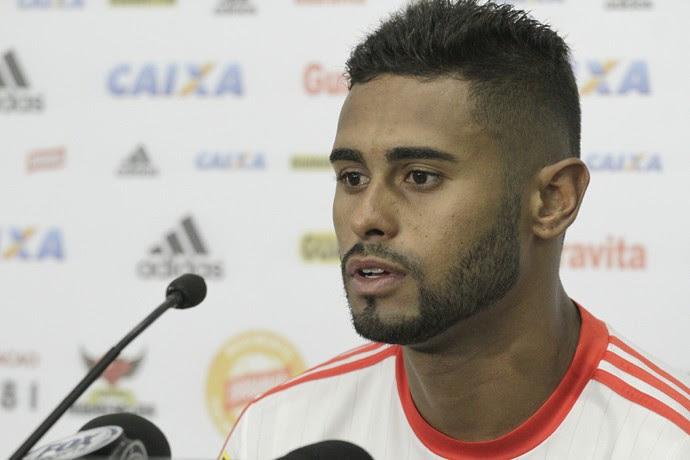 Kayke, do Flamengo, entrevista (Foto: Gilvan de Souza / Flamengo)