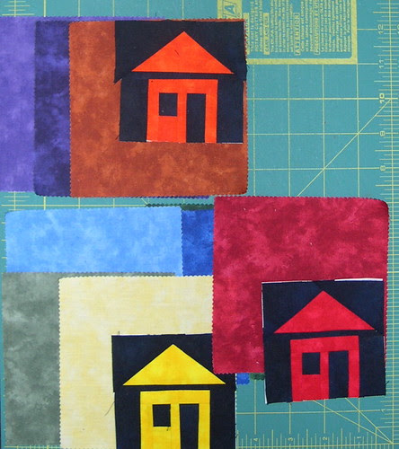 Little house blocks