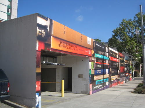 Parking Garage Book Mural