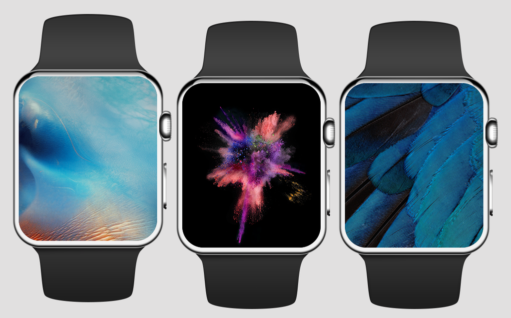 Massive collection of iOSinspired wallpapers for Apple Watch