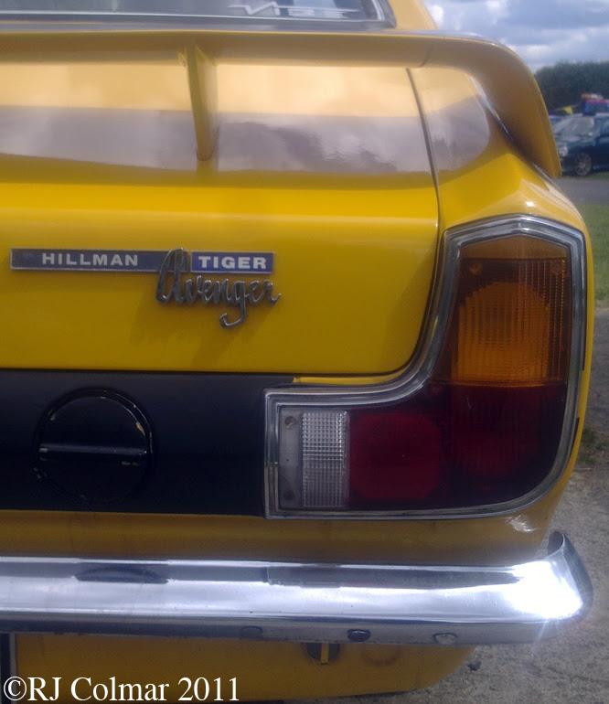Hillman Avenger, Tiger Replica, Castle Combe, C&SCAD