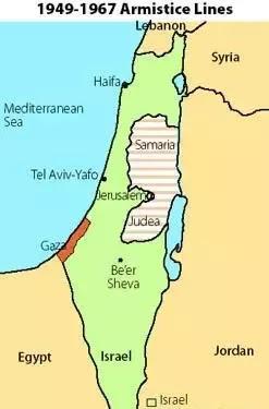 Israel Map 1948