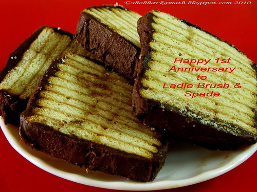 Biscuit chocolate cake 2