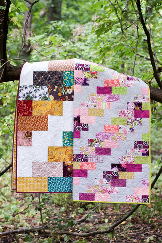 Side Braid Quilt Pattern by Jeni Baker