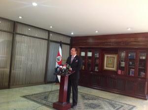 En la imagen el director de la DIS, Celso Gamboa. CRH