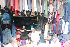 Chimna Butcher Old Clothes Market Chor Bazar by firoze shakir photographerno1