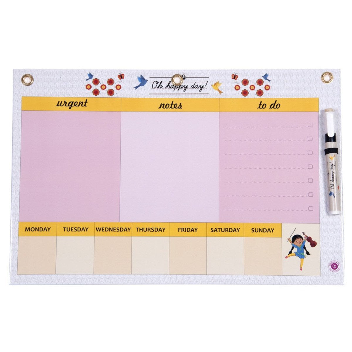 Dry Erase Board Big - Oh Happy Day Handy Planner | Gifts of Love