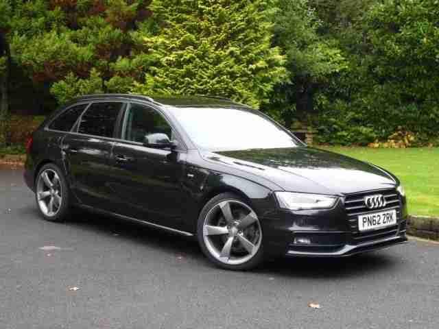 Audi A4 Avant S Line Black