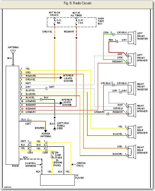1993 Corvette Radio Wiring Diagram Wiring Diagram Toyota Tundra 2013 For Wiring Diagram Schematics
