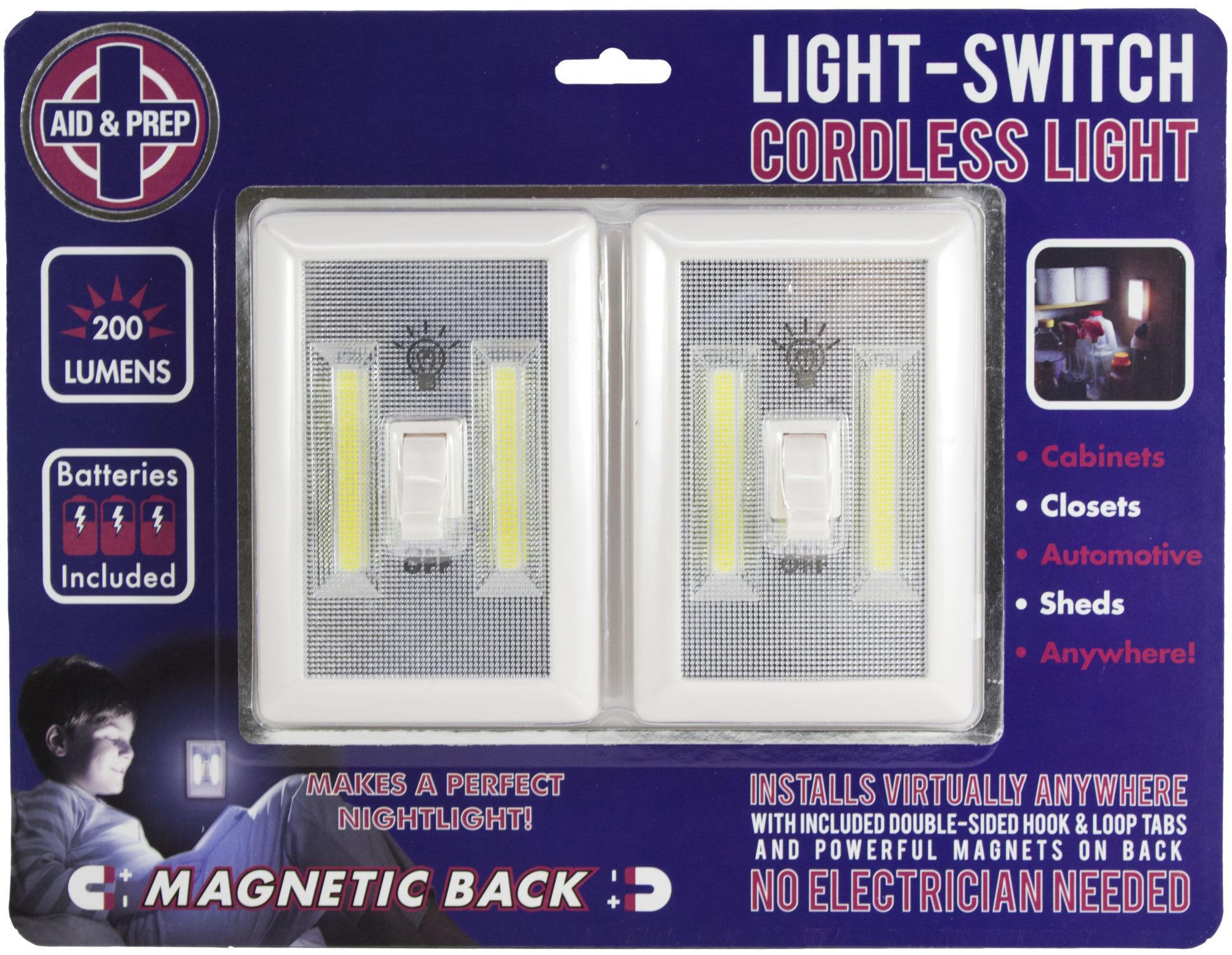Battery Operated Led Lights 2 Pack Under Cabinet Shelf Closet