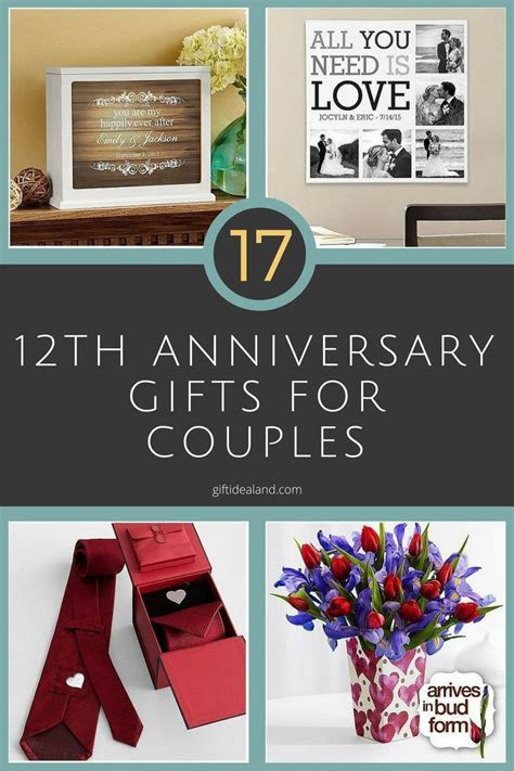 10th Wedding Anniversary Gifts For Couple   Lamoureph Blog