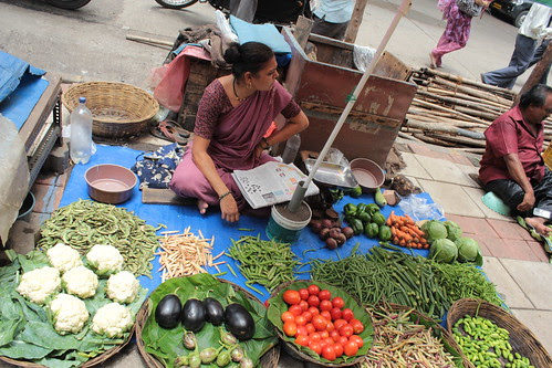 cottage industry on the street with giants corporate they dont compete ..they give the poor food to eat by firoze shakir photographerno1