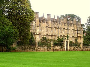 Merton college of Oxford university in Oxford,...