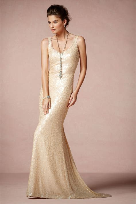 Champagne Wedding Dress For Elegance and Sweet Look