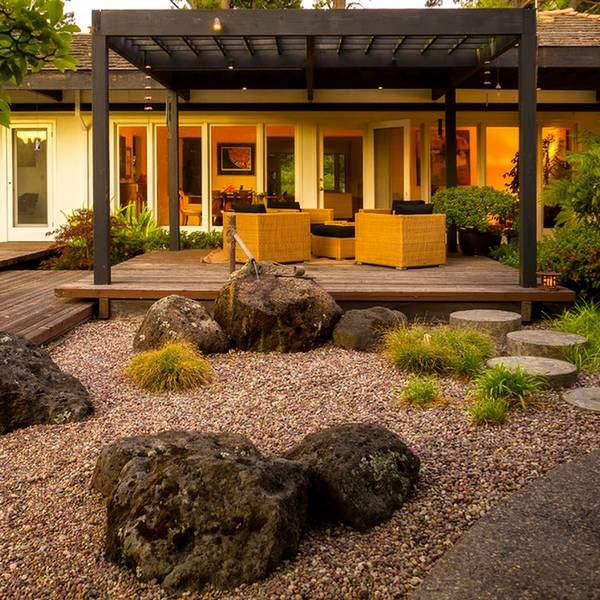 Japanese garden design in the patio - an oasis of harmony ...