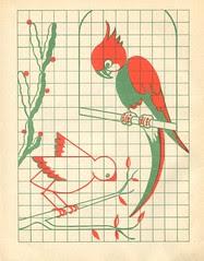 n2 cahier dessin carreau p25