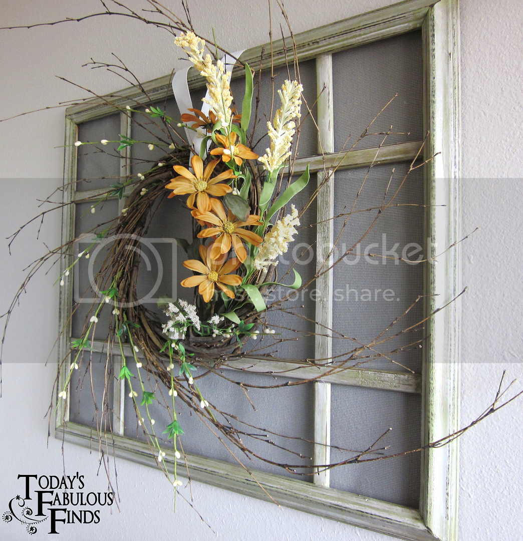 Faux Window from a Picture Frame