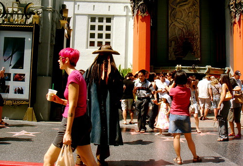 You can be excited about Grauman's Chinese Theater or not