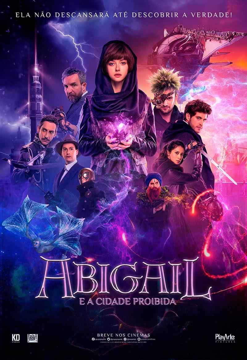 Resultado de imagem para Abigail e a Cidade Proibida cartaz