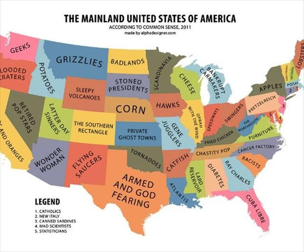 The Cartoon Map Capital Of The World Fun Maps Usa Cartoon Map Of Usa - Cartoon-map-of-the-us