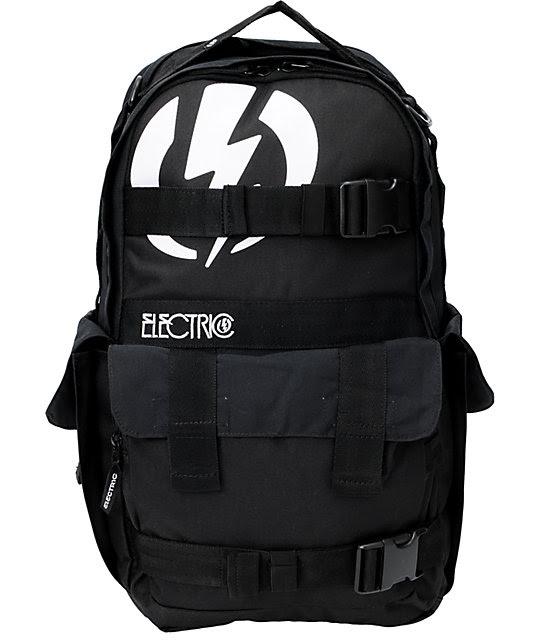 Electric Recoil Black Skate Backpack  Zumiez