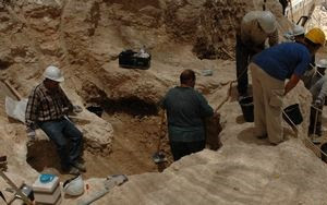 Archeological dig [illustrative]