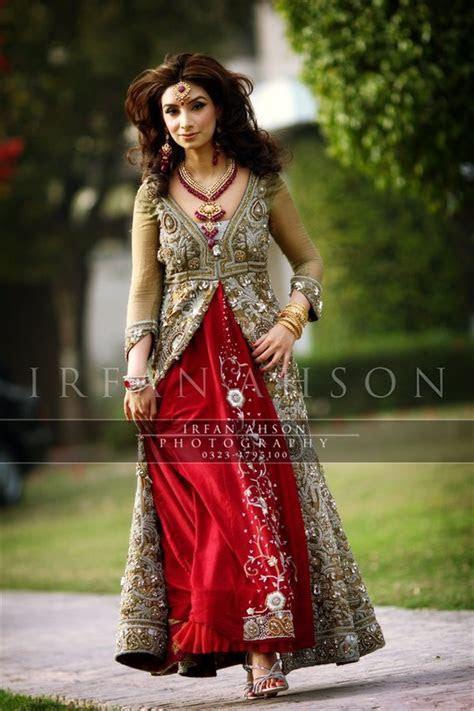 Red Bridal Dresses Latest Designs & Trends Collection 2016