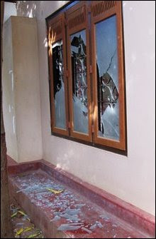 Dr Jeyakumar's residence attacked