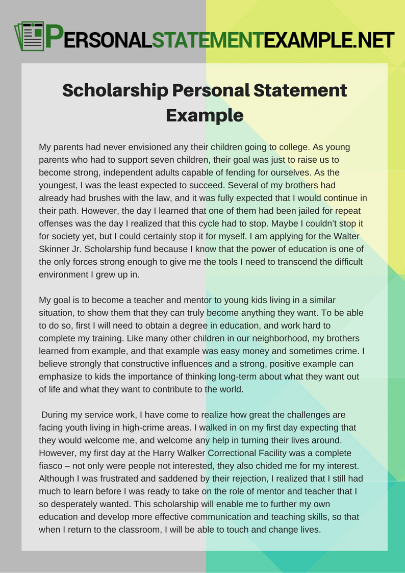 how to write scholarship essay examples