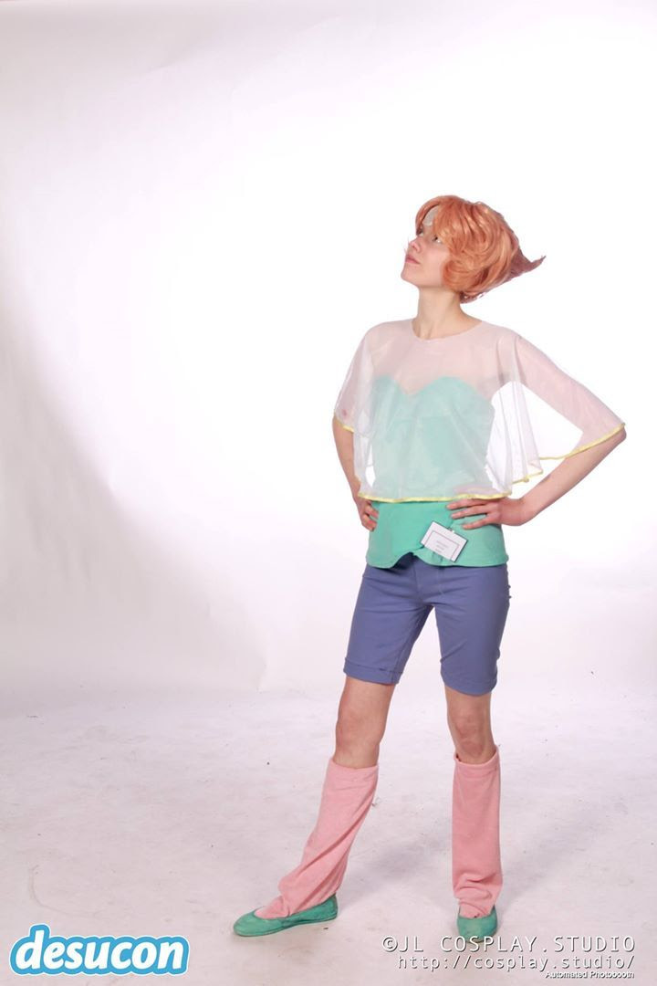 Me as Pearl from Steven universe at Desucon 2017