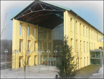 L'Auditorium Paganini by day.
