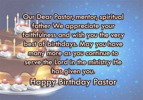 30 Happy Birthday Wishes for Pastor   WishesGreeting