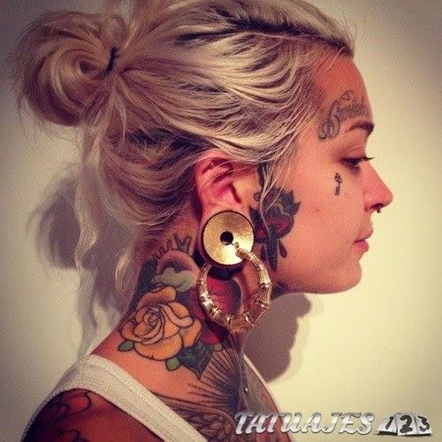 Impresionantes Tatuajes En La Cara Tatuajes 123