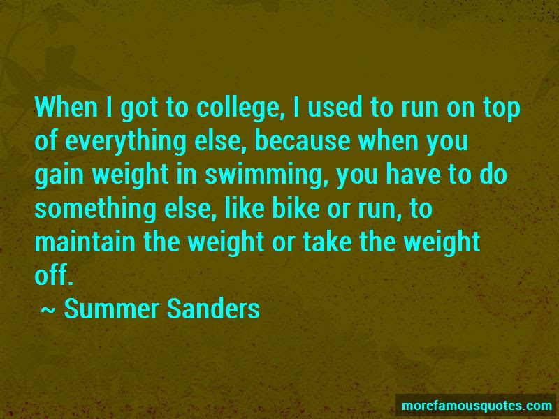 College Swimming Quotes Top 7 Quotes About College Swimming From