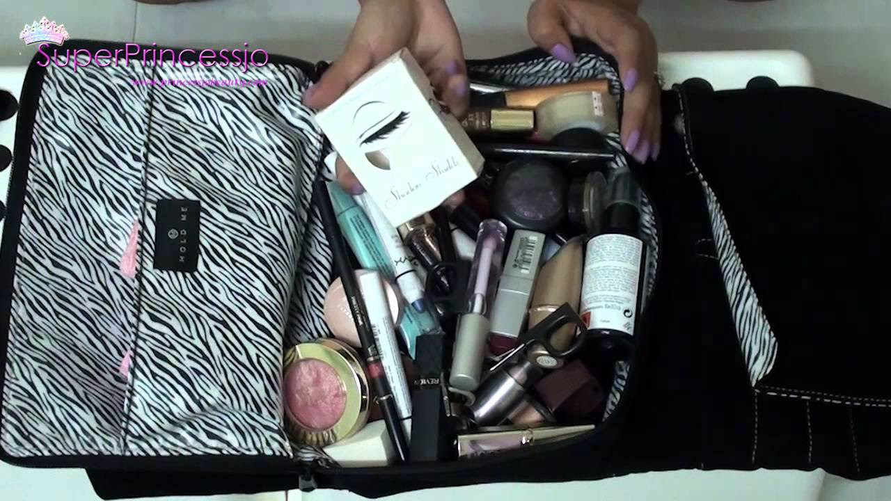 Whats In My bag Travel Makeup Bag How To pack Makeup For ...