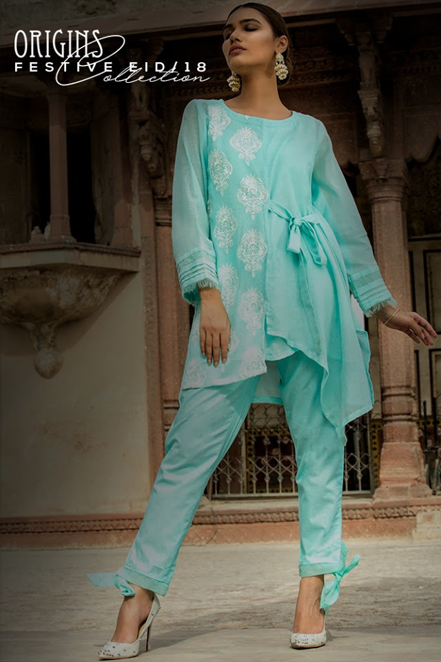 origins latest eid dresses festive collection 20182019