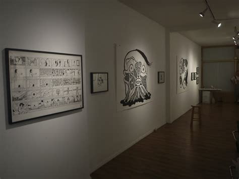 dark art giant drawing exhibition