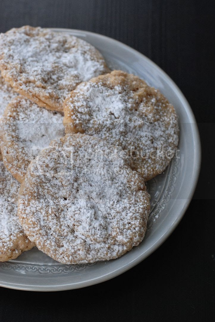 leaves and flours vegan horchata cookies