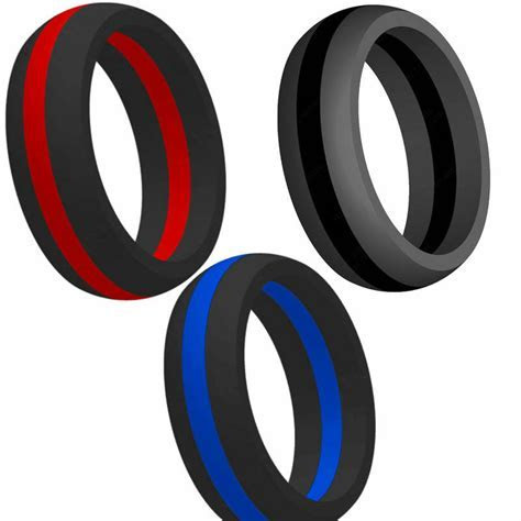 Size 5 15 Silicone Rubber Ring Alternative Fitness Cross