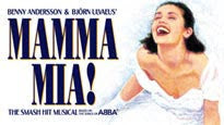 Mamma Mia pre-sale password for musical tickets